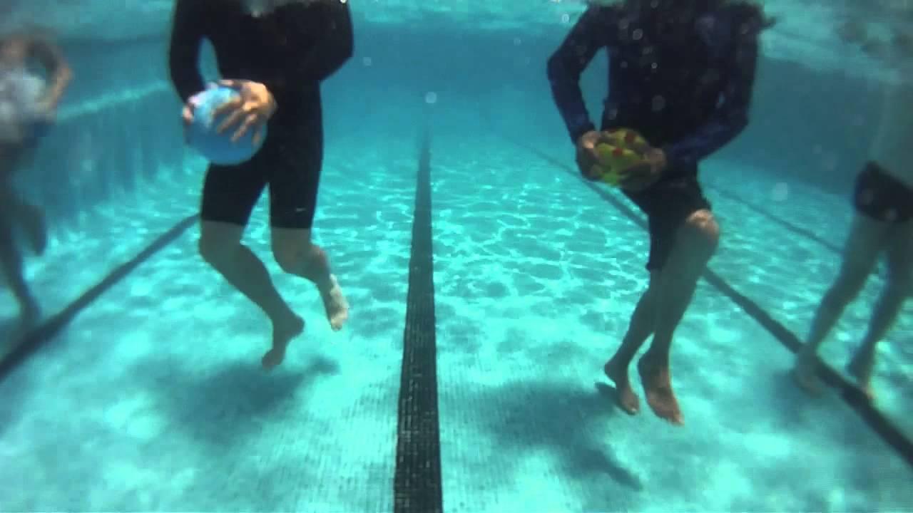 Ejercicios biomecánicas bajo agua